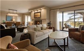 Living Room Interior view at Fairmont Scottsdale Princess, Arizona