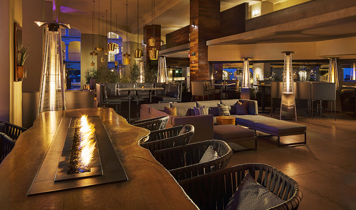 The Plaza Bar at Fairmont Scottsdale Princess, Arizona