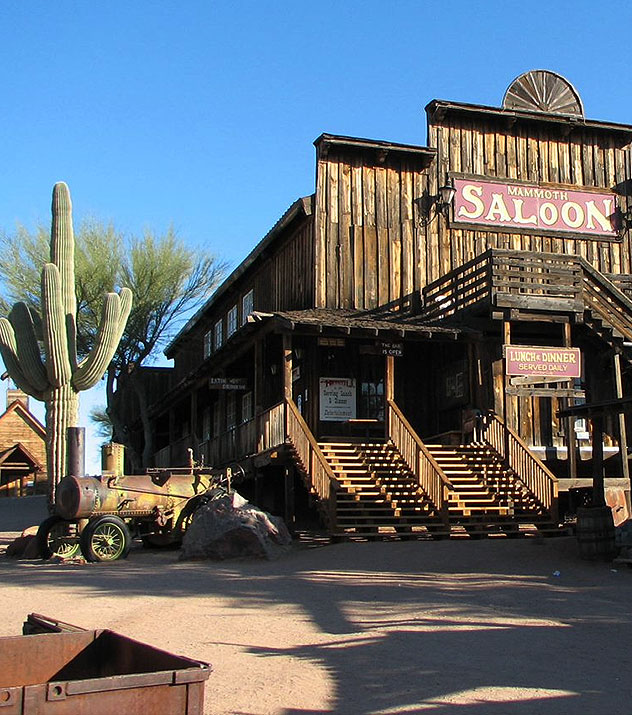 Goldfield Ghost Town at Scottsdale ,Arizona