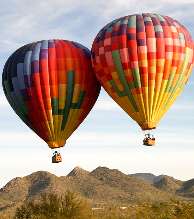 Hot Air Balloon Rides at Scottsdale ,Arizona