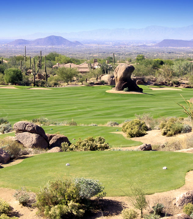 Troon North Golf Club - Monument Course at Scottsdale ,Arizona
