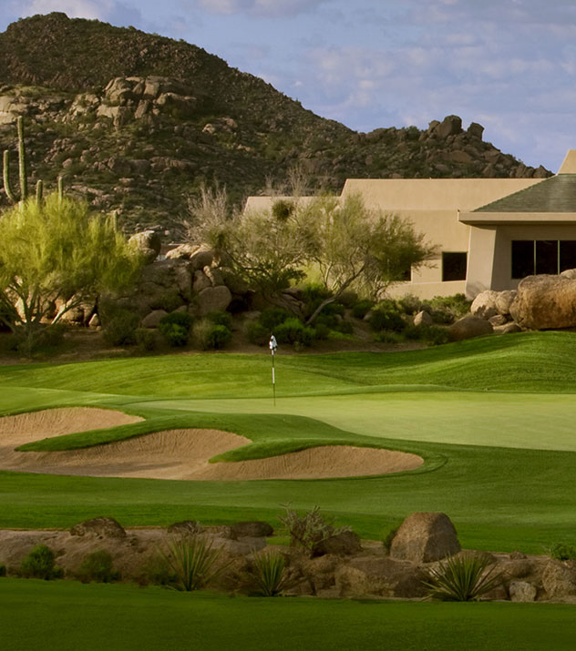 Troon North Golf Club - Pinnacle Course at Scottsdale ,Arizona