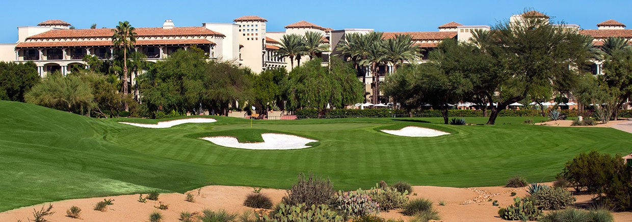 Golf Court at Fairmont Scottsdale Princess, Arizona