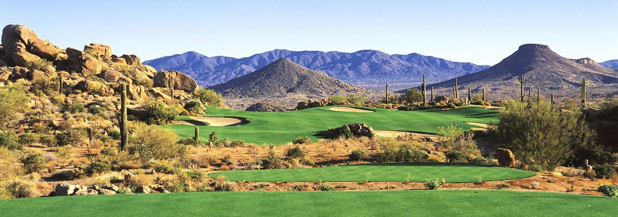 Partnered Golf Courses at Fairmont Scottsdale Princess, Arizona