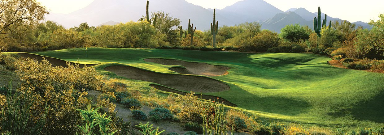 Raptor Course at Fairmont Scottsdale Princess, Arizona