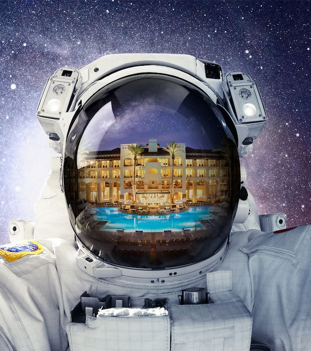 Summer Outta This World Astronaut at the Princess