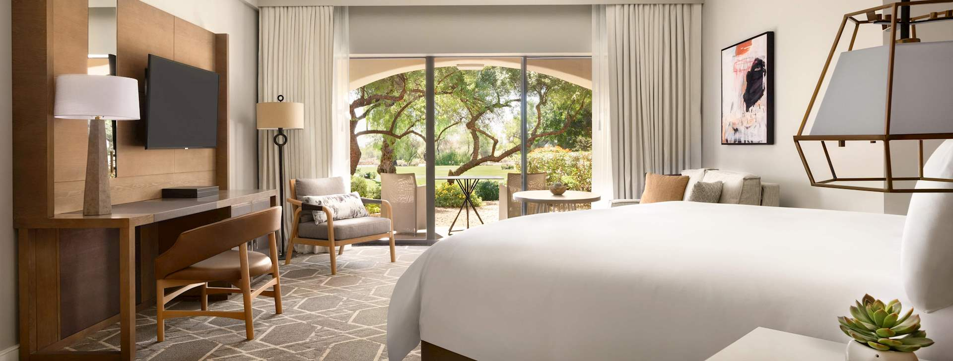 Guest Rooms At Fairmont Scottsdale Princess, Arizona