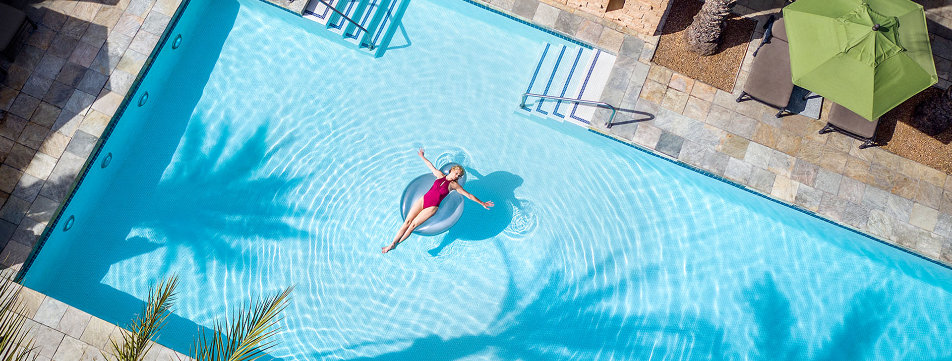 Kids enjoy swimming at Fairmont Scottsdale Princess, Arizona
