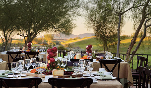 Banquet Menu at Fairmont Scottsdale Princess, Arizona