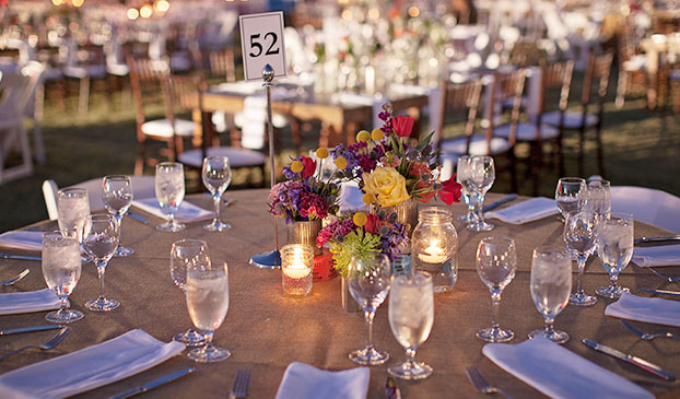 Wedding Menu at Fairmont Scottsdale Princess, Arizona