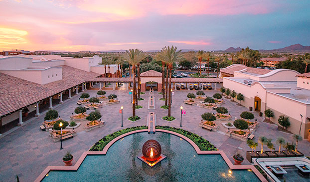 Resort Map at Fairmont Scottsdale Princess, Arizona
