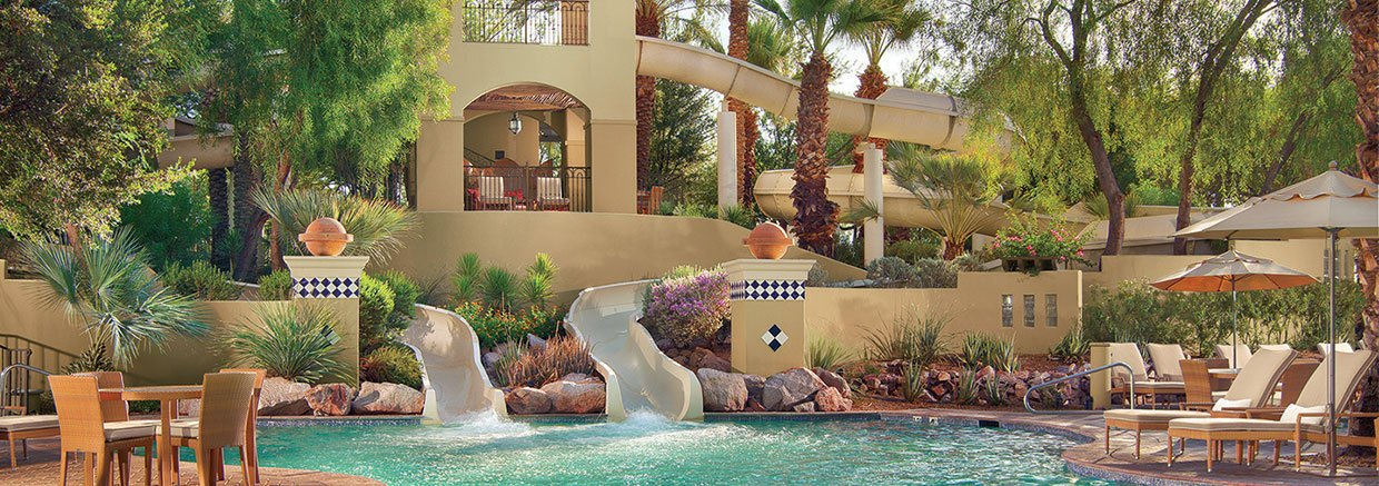 Swimming Pool at Fairmont Scottsdale Princess, Arizona