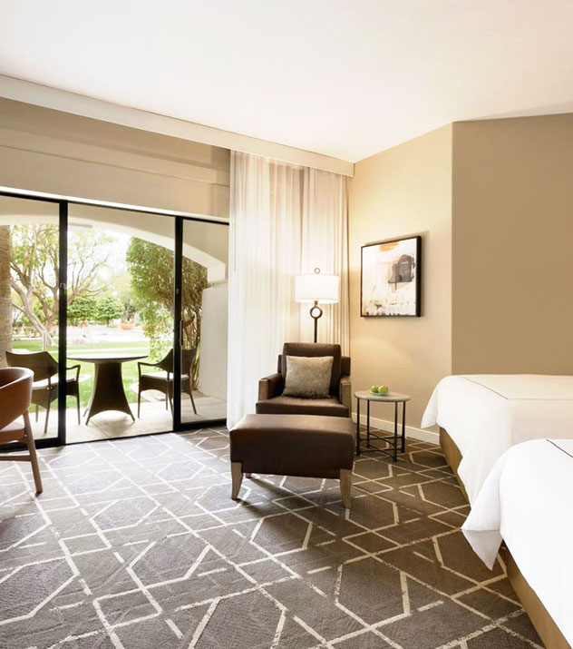 Building C in Fairmont Scottsdale Princess, Arizona Guest Rooms