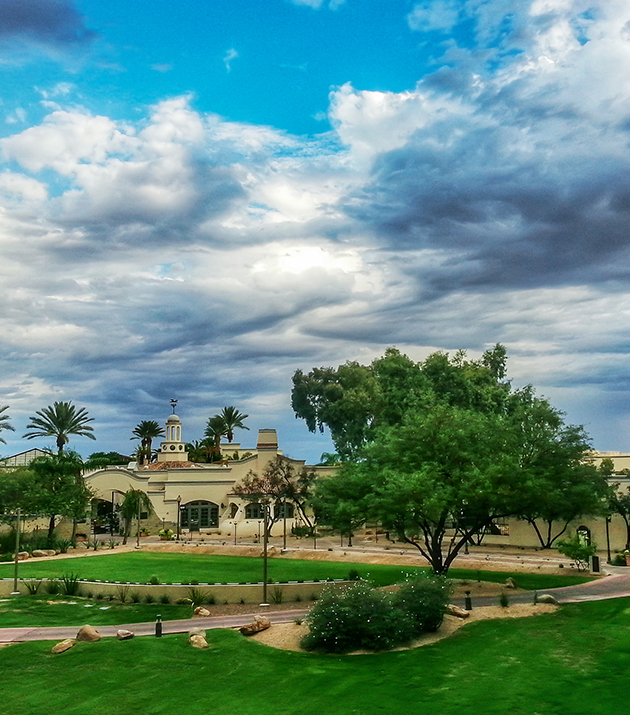 Canyon lawn in fairmont scottsdale princess arizona