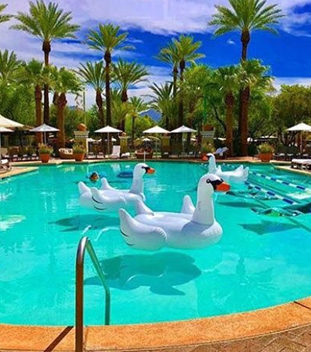Sonoran Landing Pool in Fairmont Scottsdale Princess, Arizona