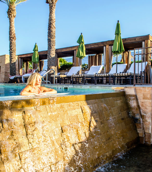 Well & Being Rooftop Pool in Fairmont Scottsdale Princess, Arizona