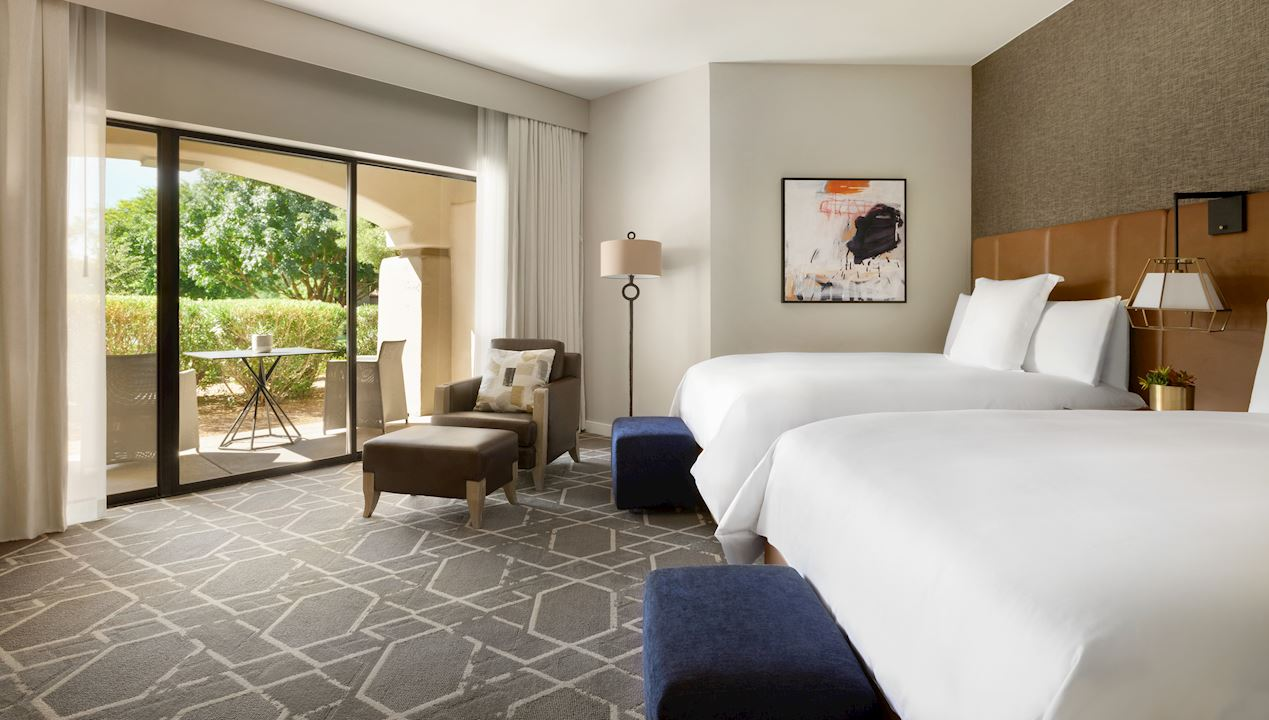 Two Bed Bedroom at Fairmont Scottsdale Princess, Arizona