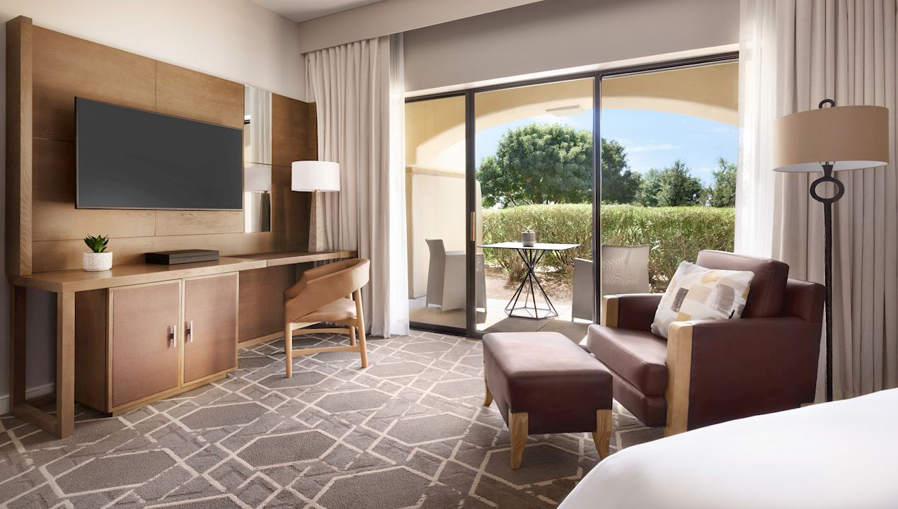 Single Bed Bedroom at Fairmont Scottsdale Princess, Arizona