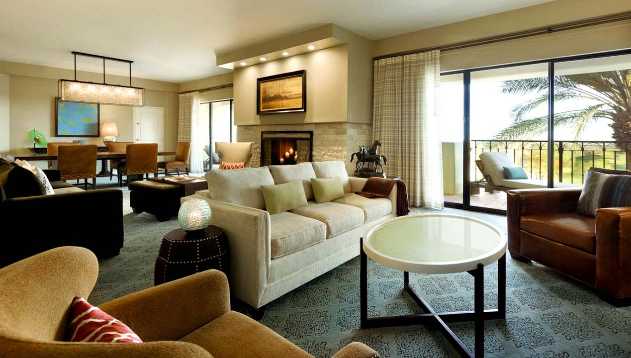 Premium Luxary Room Interior view at Fairmont Scottsdale Princess, Arizona