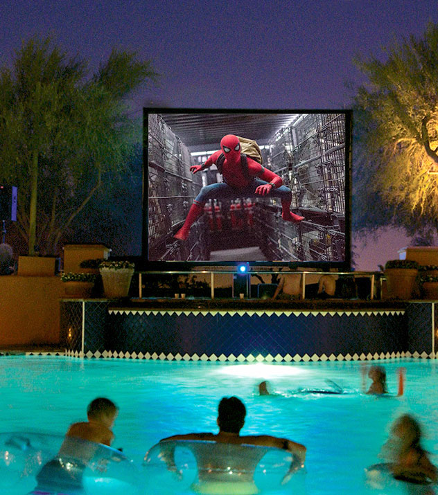 Dive-In Movies at Fairmont Scottsdale Princess Resort, Scottsdale
