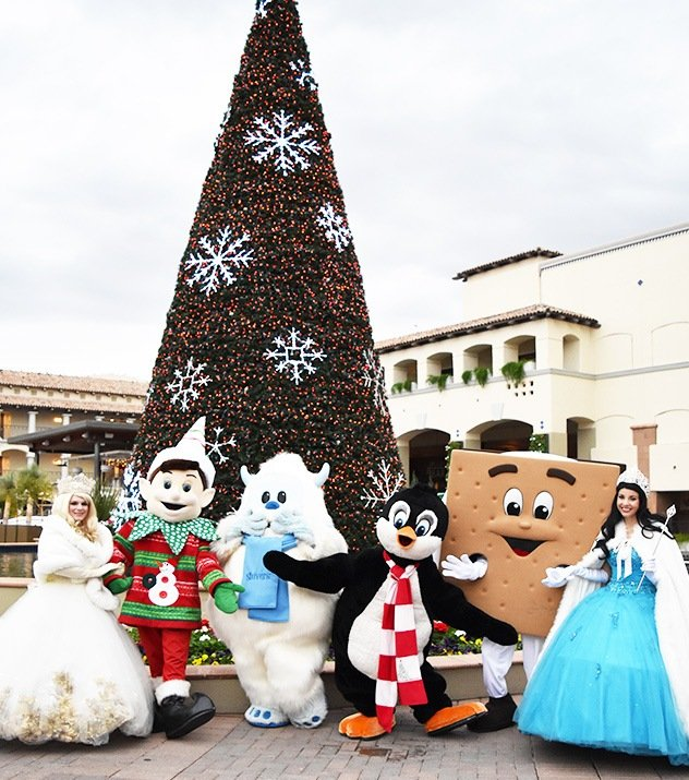 Holiday Character Appearances in Fairmont Scottsdale Princess Resort, Scottsdale