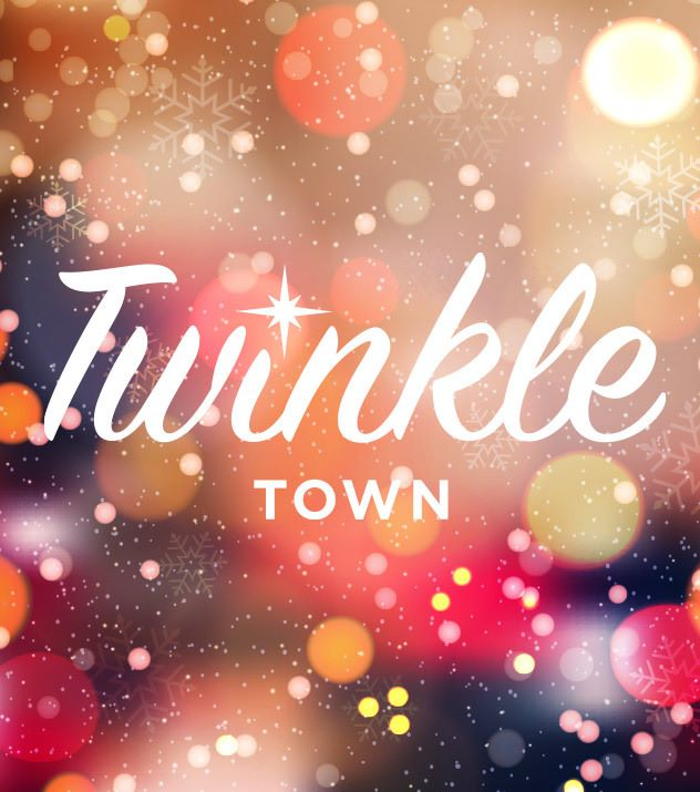 Twinkle Town at Christmas at the Princess