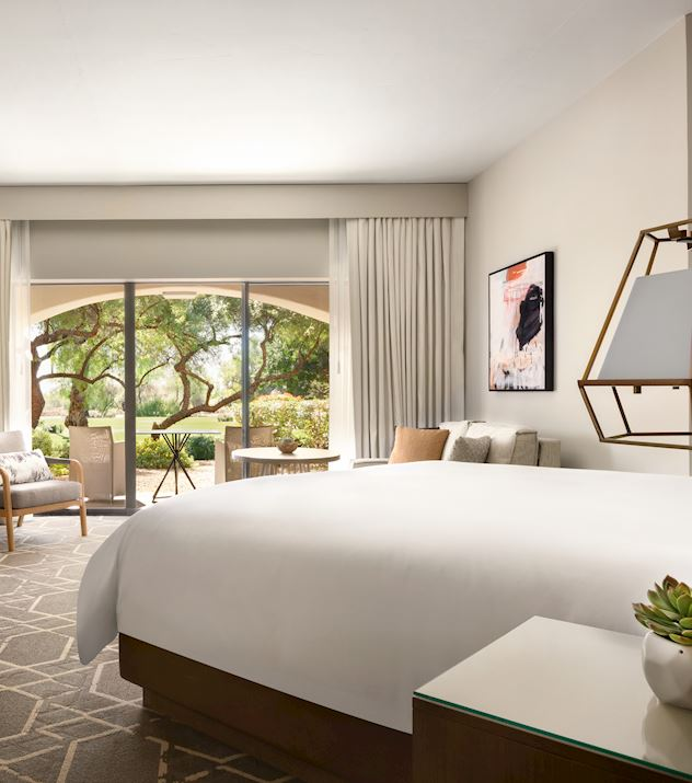 Newly Renovated Accommodations at Fairmont Scottsdale Resort, Scottsdale Arizona