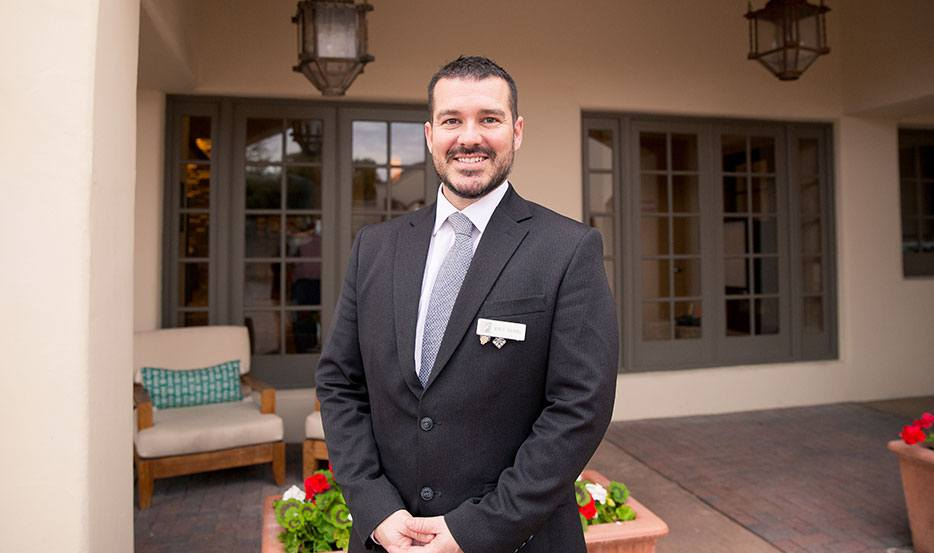 Erik Sears, Assistant Spa Director at Fairmont Scottsdale Princess, Arizona