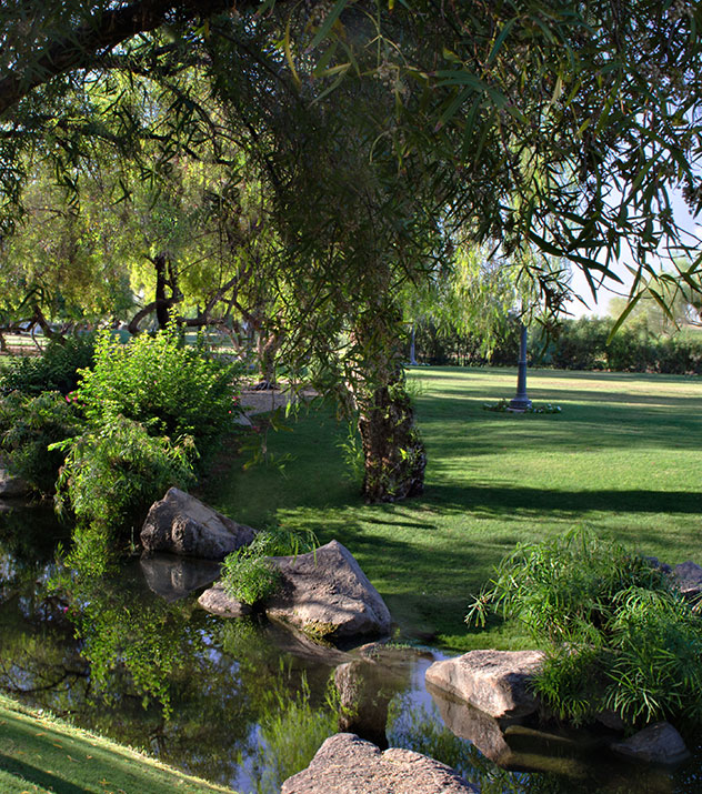 Lagoon Lawn at Fairmont Scottsdale Princess, Arizona